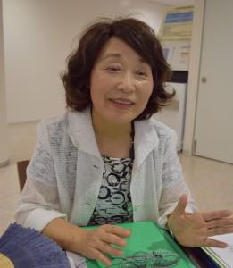 研究グループ代表の北條祥子さん