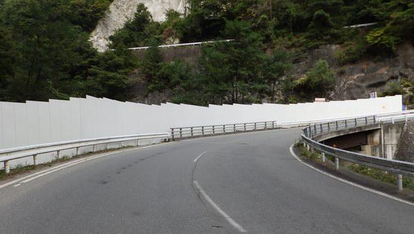 写真1 南アルプストンネル本体工事の準備工事現場